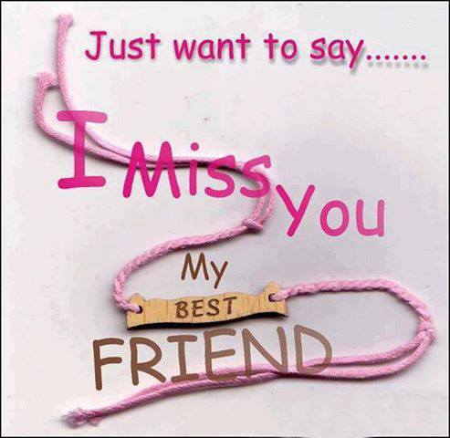 50 I Miss My Best Friend Quotes with Images - I Miss You Quotes