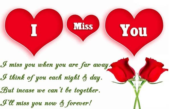 Great I Miss You Now And Forever Images For Husband